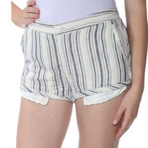 FREE PEOPLE 3 tone casual knit striped shorts 4